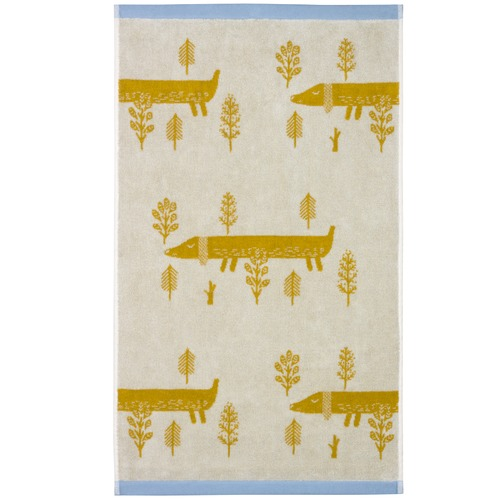 Donna Wilson Sausage Dogs Cotton Hand Towels