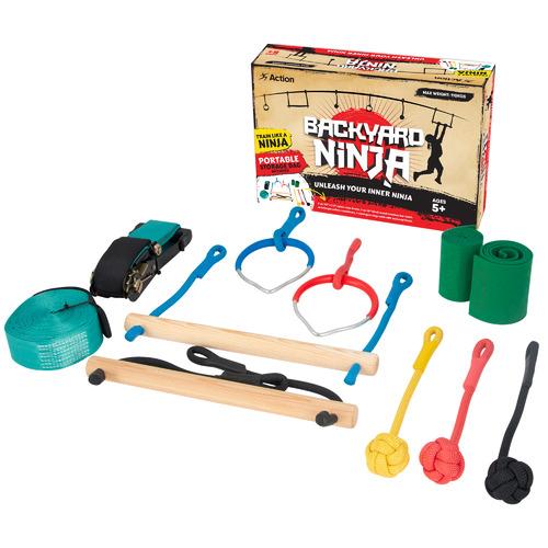 Action Sports Kids' Backyard Ninja Obstacle Kit