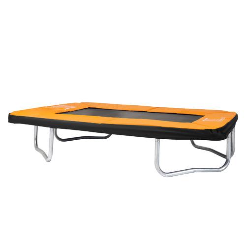 Action Sports Kids' Orange Rectangular Trampoline