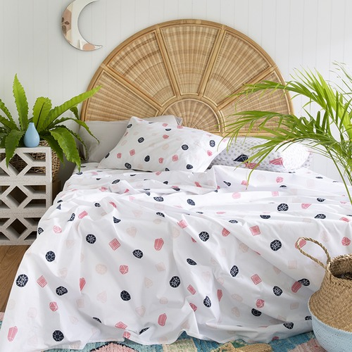 More Than Ever You Rock My World Cotton Flat Sheet