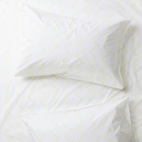 More Than Ever Zig & Zag Cotton Standard Pillowcases