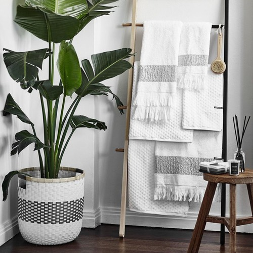 La Abode Large Eco-Friendly Woven Basket & Planter