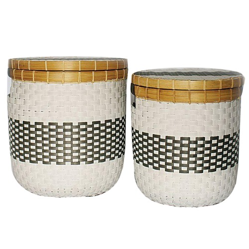 La Abode 2 Piece Eco-friendly Basket Set
