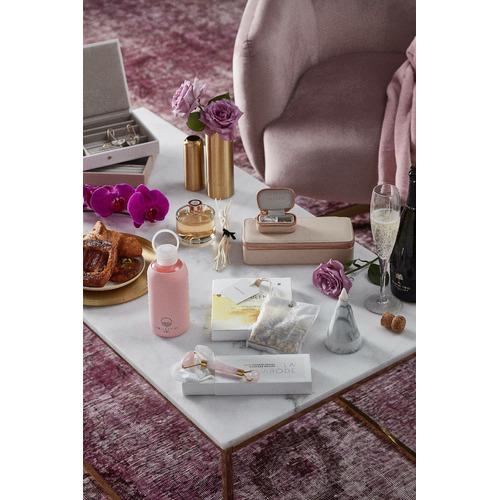 La Abode Rose Quartz Facial Massage Roller