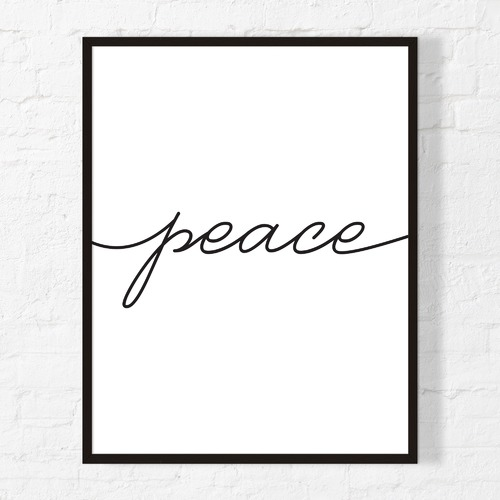 Artefocus Peace Framed Wall Art