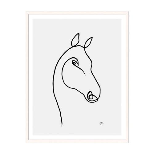 Artefocus Horse 3 Framed Wall Art