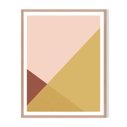 Artefocus Geometric I Framed Printed Wall Art