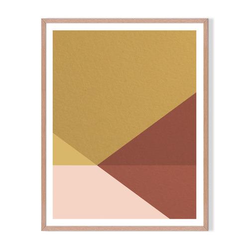 Artefocus Geometric III Framed Printed Wall Art