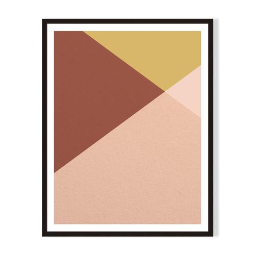 Artefocus Geometric IV Framed Printed Wall Art