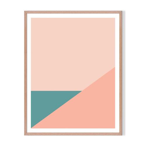 Artefocus Geometric VII Framed Printed Wall Art