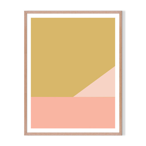 Artefocus Geometric XII Framed Printed Wall Art