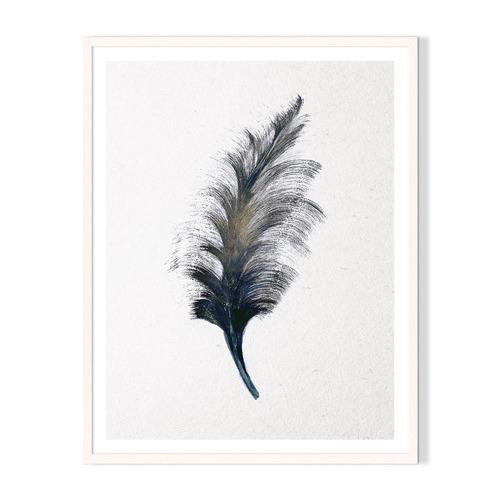 Artefocus Feather Framed Printed Wall Art