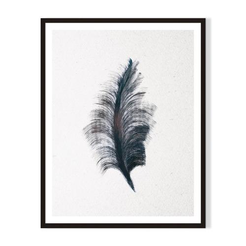 Artefocus Feather II Framed Printed Wall Art
