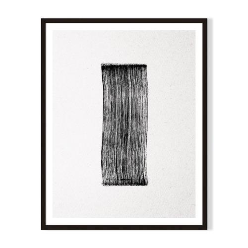 Artefocus Lines Framed Printed Wall Art