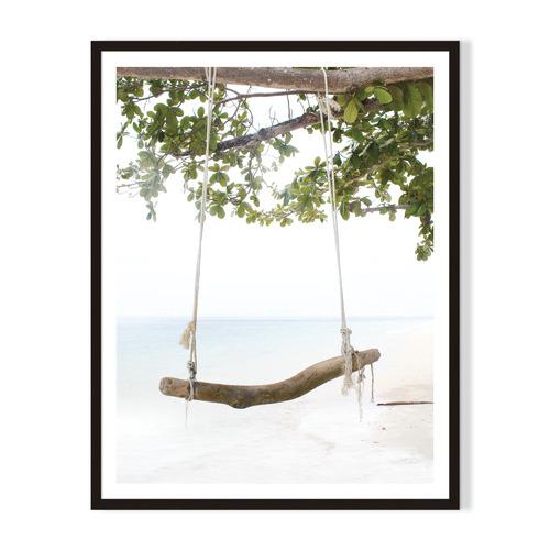 Artefocus Swing-Swing Framed Printed Wall Art