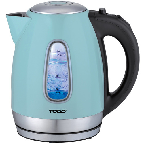 1.7L Cordless Retro Style Kettle with LED Light