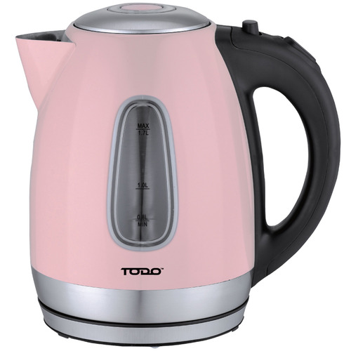 Todo 1.7L Cordless Retro-Style Kettle with LED Light