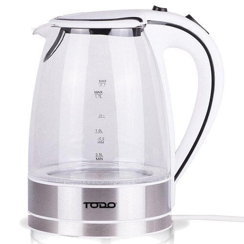 Todo 1.7L Cordless Glass Kettle