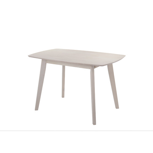 Nordic House White Wash Snow Dining Table