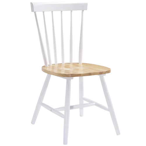 Nordic House Natural Ori Rubber Wood Dining Chairs