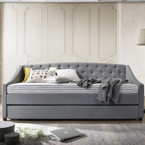 Nordic House Millio Hardwood Daybed with Trundle