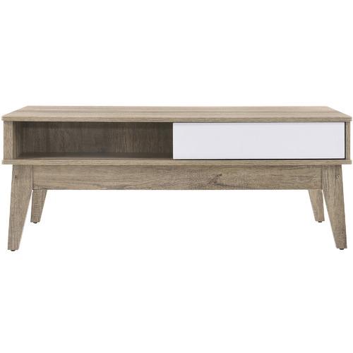 Nordic House Oak Scandi Wooden Coffee Table