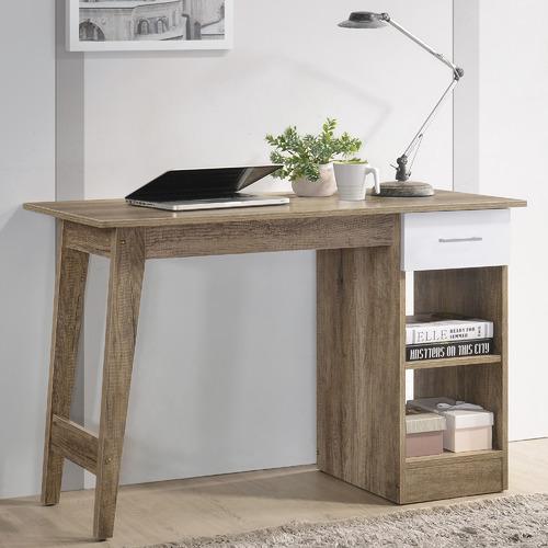 Nordic House Oak Scandi Wooden Work Desk