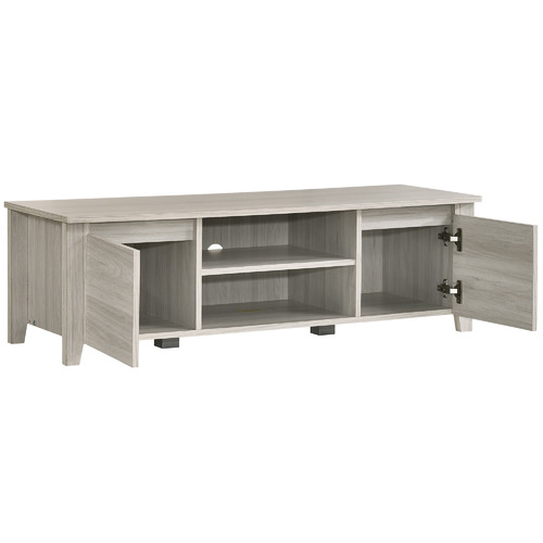Nordic House White Wash Eve TV Unit