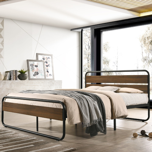 Nordic House Medium Timber Maise Bed Frame