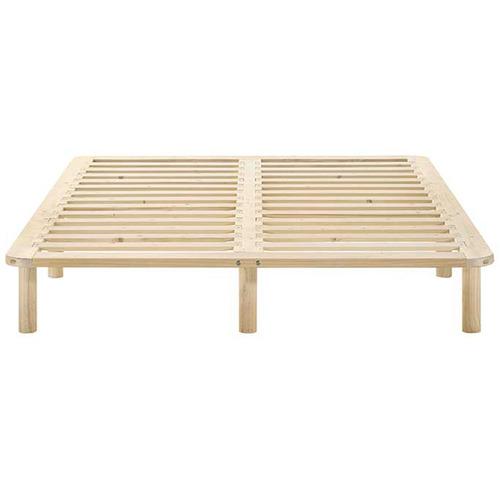 Nordic House Natural Cali Wooden Bed Base