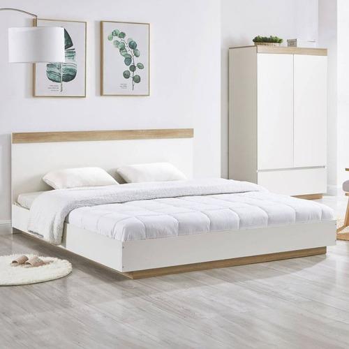 Natural Venice Industrial Bed Frame