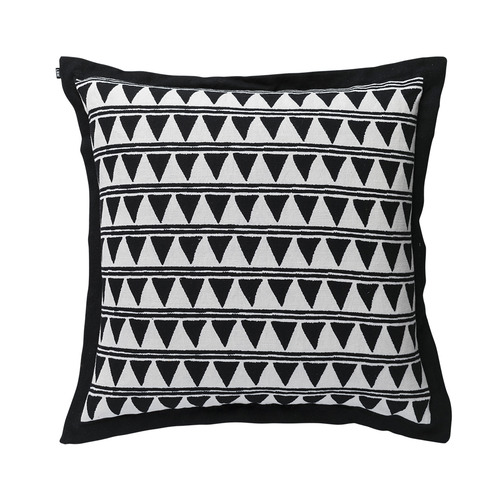 L & M Home Printed Triangle Ceylon Linen Cushion