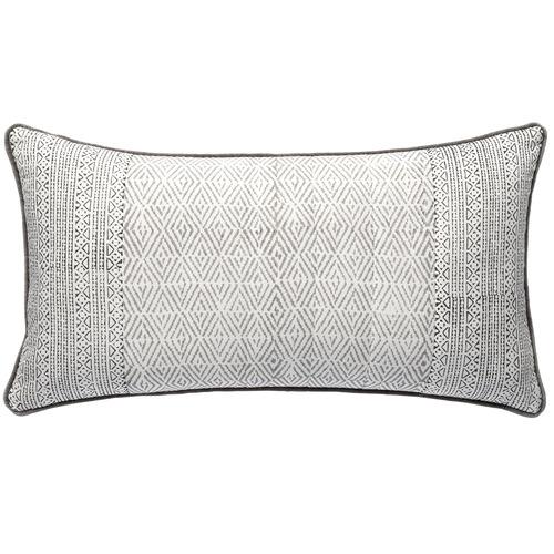 L & M Home Geometric Monsoon Cotton Cushion