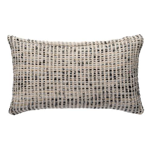 L & M Home Woven Nord Rectangular Cotton Cushion