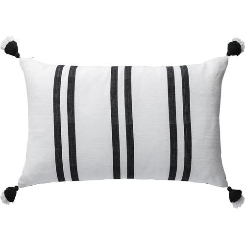 L & M Home Stripe Santa Fe Rectangular Cotton Cushion