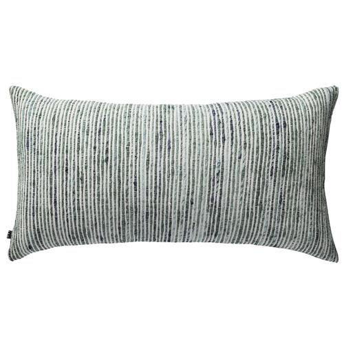 L & M Home Woven Shore Rectangular Cotton Cushion