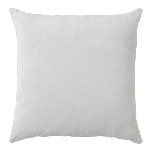 L & M Home Diamond Cotton Velvet Cushion