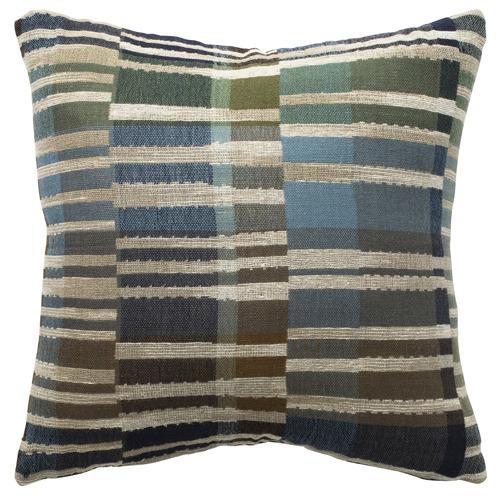 L & M Home Arcadia Silk & Wool Cushion