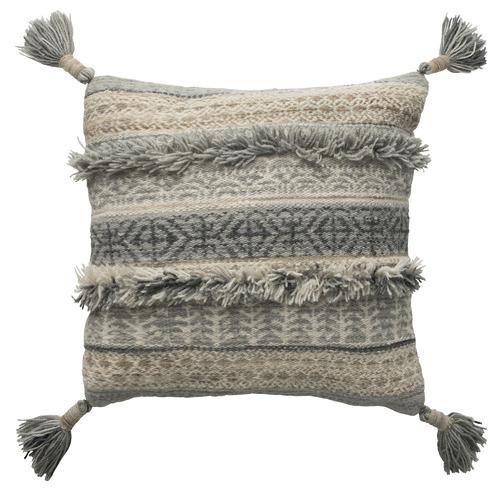 L & M Home Arlo Wool Cushion