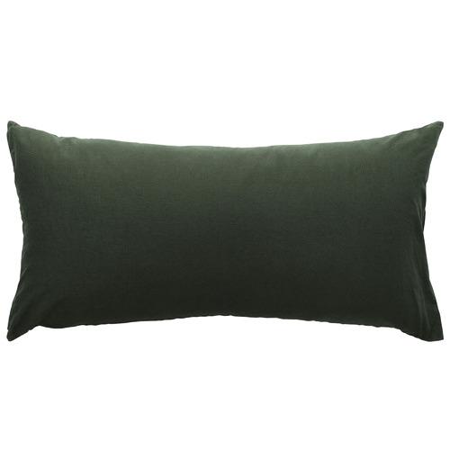 L & M Home Attic French Linen-Blend Lumbar Cushion