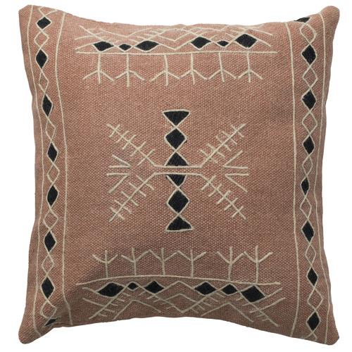 L & M Home Geometric Bazar Cotton-Blend Cushion