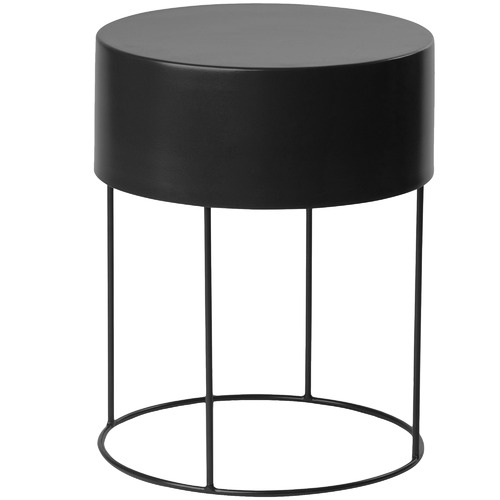 L & M Home Croft Metal Side Table