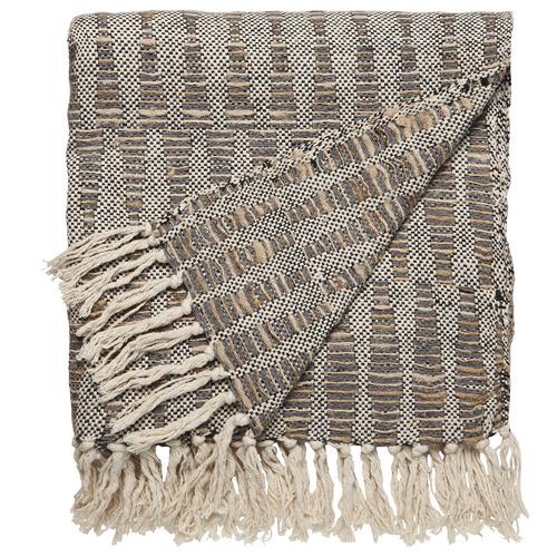 L & M Home Diamond Lioli Cotton Throw