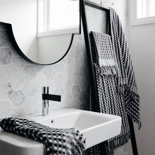 L & M Home Tasselled Moma Cotton Bathroom Towels
