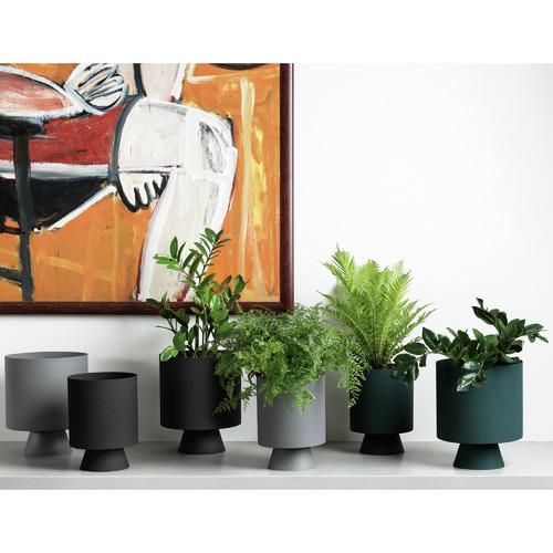 L & M Home Mona Metal Planter
