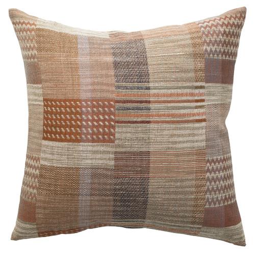 L & M Home Abstract Palermo Silk & Wool Cushion