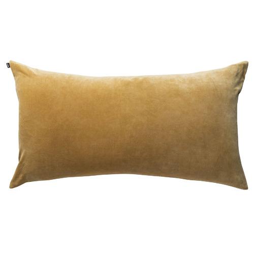 L & M Home Velvet Lumbar Cushion