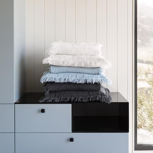 L & M Home Ava Linen Cushion