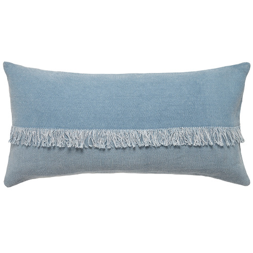 Fringed Moby Cotton Cushion