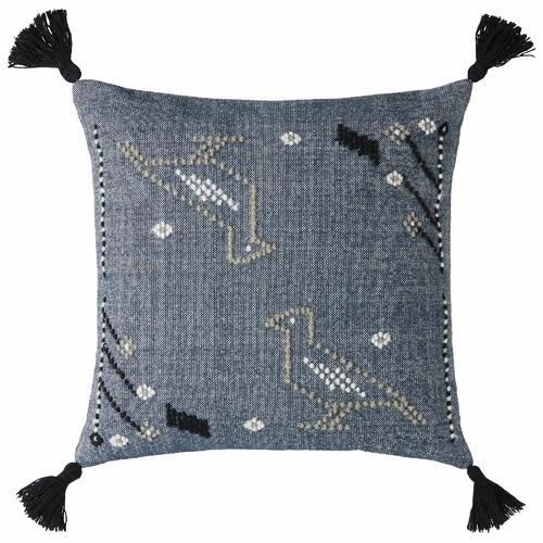 L & M Home Aviary Cotton Cushion